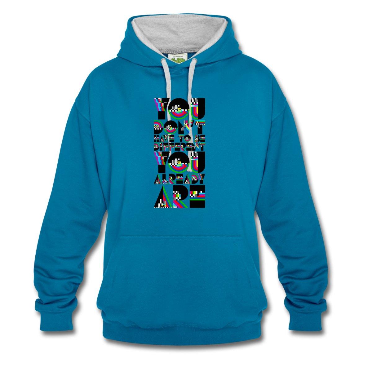 einzigartig-kontrast-hoodie