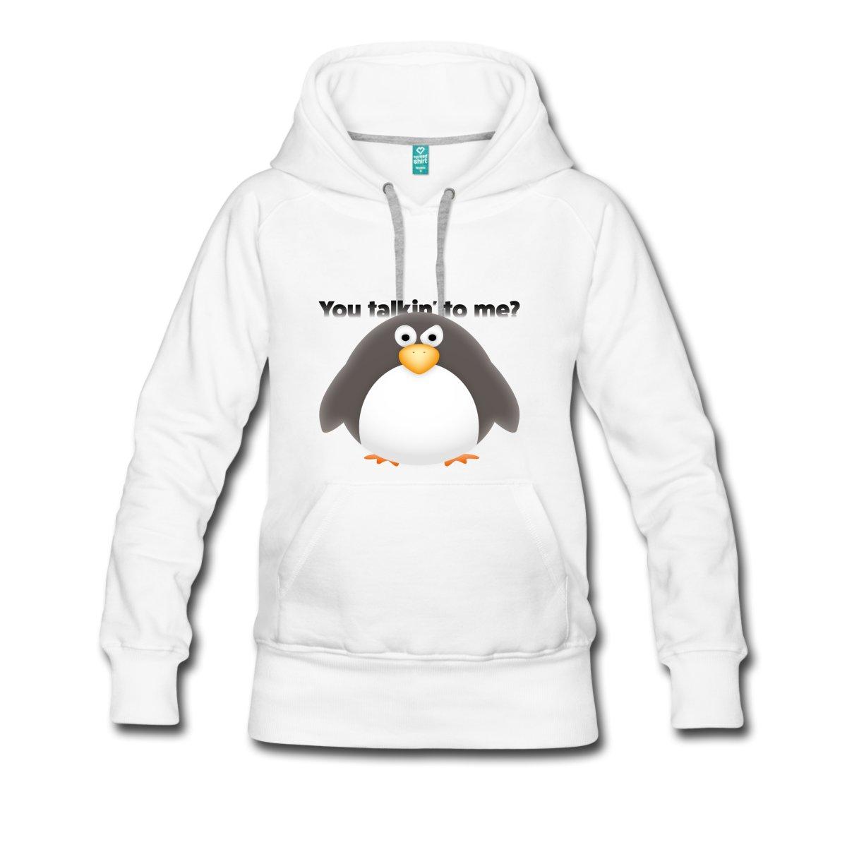 redest-du-mit-mir-frauen-premium-hoodie