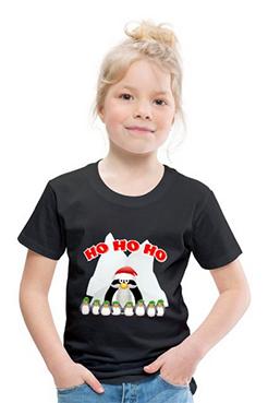 Weihnachtsmotin mit Pinguine fürKinder und Erwachsene